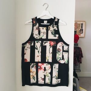 "3.1 Phillip Lim ""Get it girl"" muscle tank"